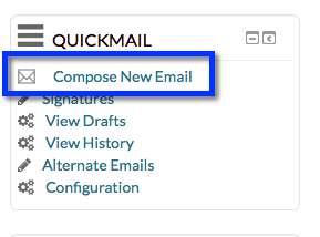Moodle quickmail block